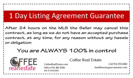 1 day1 day listing agreement Coffee Real Estate