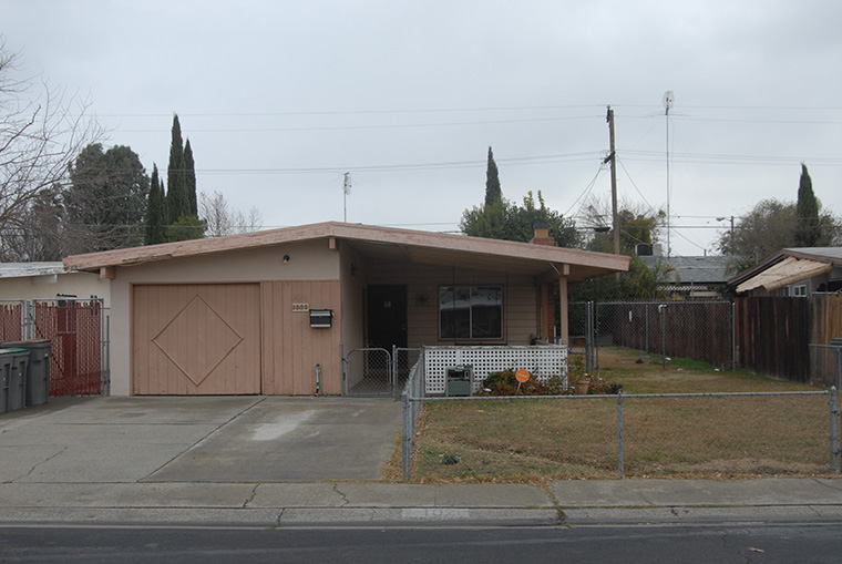 First time home owner property front