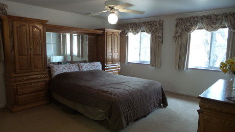 master bedroom country home for sale