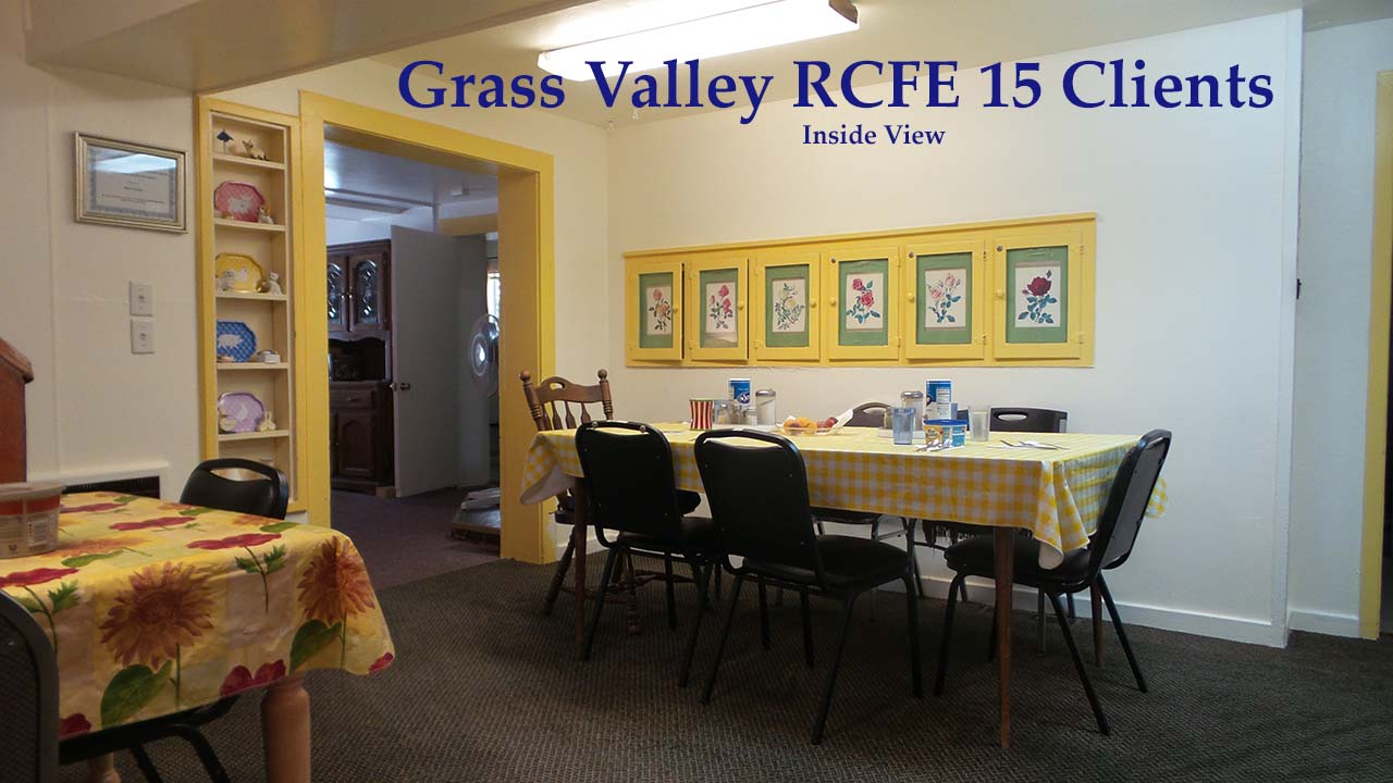 RCFE care home for sale inside