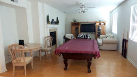 living room Sacramento home for sale