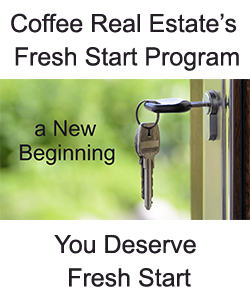 Coffee Real Estate Fresh Start Program