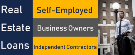 self employed real estate loans