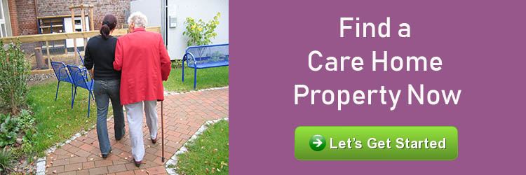Care home properties for sale CA
