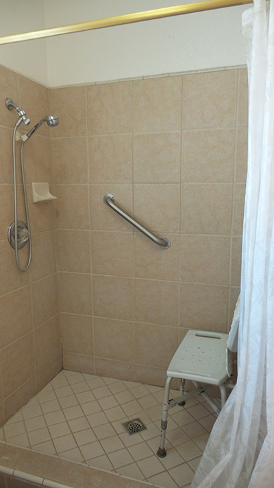 home for sale special needs bathroom